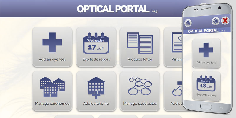 Optical Portal screenshot